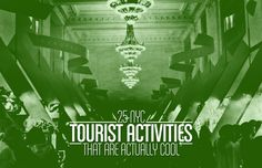 NYC - 25 NYC Tourist Activities That Are Actually Cool