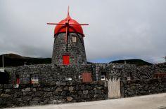 SIARAM :: Moinhos de Vento, Moinho da Pedra, Windmill, Graciosa Island, Azores, Portugal