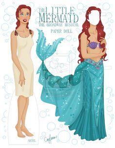 Ariel on Broadway Paper Doll by ~Cor104 on deviantART