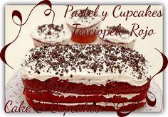 2015 Noviembre Pastel y Cupcakes de Terciopelo Rojo Red Velvet Cake and Cupcakes