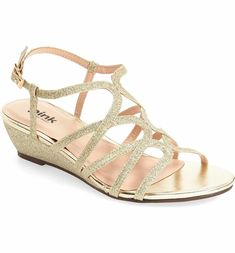 Main Image - pink paradox london 'Opulent' Wedge Sandal (Women)