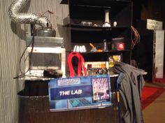 Agency D3.     THE LAB......crafts