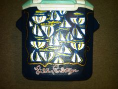 Lilly Pulitzer Docksider Print on a Cooler