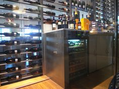 Wine room in Johanne
