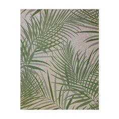 Add an ultimate style to your space by selecting this Gertmenian & Sons Paseo Paume Sand and Palm Floral Indoor or Outdoor Area Rug. Mold and mildew resistant. Indoor Outdoor Area Rugs, Outdoor Living, Mold And Mildew, Cool Rugs, Colorful Rugs, Sisal Rugs, Garden Hose, Yarns, Fiber