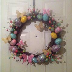 My first wreath!!!