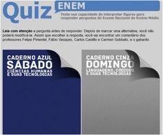 Resolva questões do Enem 2012 baseadas em imagens