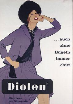Diolen ~ René Gruau
