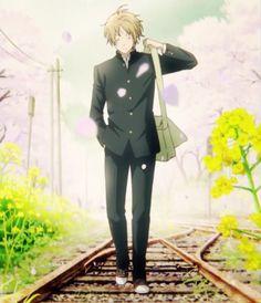 Natsume Yuujinchou Roku Opening Awesome Anime, Anime Love, Anime Guys, Manga Anime, Natsume Takashi, Hotarubi No Mori, Natsume Yuujinchou, Normal Guys, Standing Poses