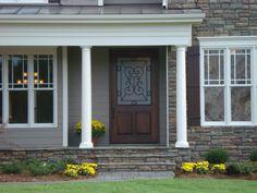 4x8 Custom front door Porch, Garage Doors, Outdoor Decor, House, Home Decor, Balcony, Decoration Home, Home, Room Decor