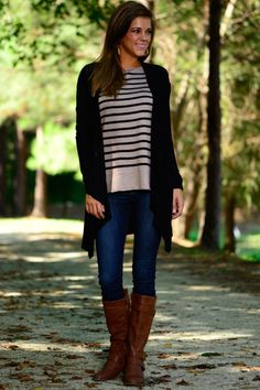 Give My All Cardigan, Black