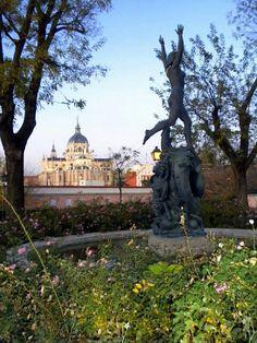 Jardín de las Vistillas. Madrid.
