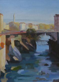 """Ponte Nuova"" - Ivrea,  Italy"