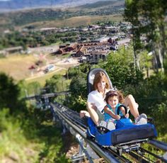 Take the kids to the alpine slides again, and do the alpine coaster!!