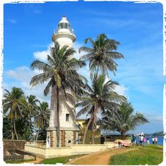 The old lighthouse in Galle
