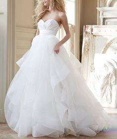 Newest Sweetheart Wedding Dresses,A-Line Wedding Dresses, The Charming Wedding Dress,Wedding Dresses on Luulla
