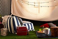 Create your very own backyard theater!