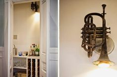 Clever use of an instrument! #lighting #music