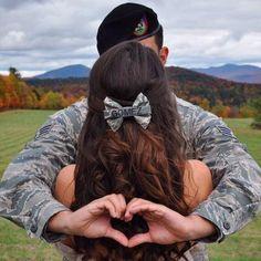 Air Force ABU Nametape Bow