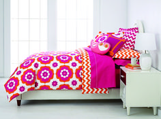 Happy Chic katie 3-pc. queen reversible duvet cover set