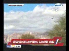 Choque entre helicópteros