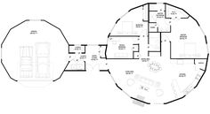 Deltec Homes- Floorplan Gallery   Round Floorplans   Custom Floorplans