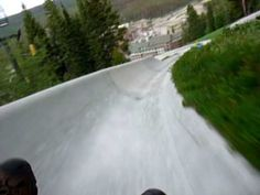 Alpine Slide at Winter Park, Colorado - should have bought unlimited pass, so much fun!