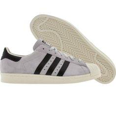 Adidas Superstar 80s (college grey / black / legacy). $89.99