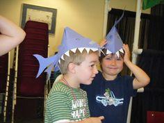 Shark Hat Craft