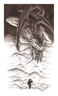 11: The Hobbit - Smaug's bed by ~ritchat on deviantART