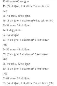 Amigurumi örgü oyuncak yabancı pattern türkçe tarif modeller ve anlatımları