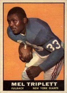 1961 Topps #86 Mel Triplett Front