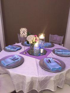 Simple but elegant table set up
