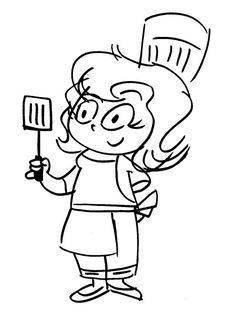 CRAZY KITCHEN On Pinterest Chefs Cartoon And