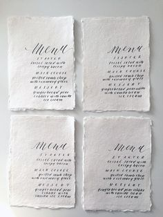 Miranda Writes is a calligraphy and wedding invitation design studio in Omaha, Nebraska by Miranda Griffiths. Calligraphy Letters, Modern Calligraphy, Wedding Menu, Wedding Invitation Design, Fancy Pants, Hand Lettering, Floral Design, Stationery, Writing