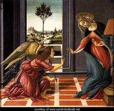 Sandro Botticelli~ Cestello Annunciation