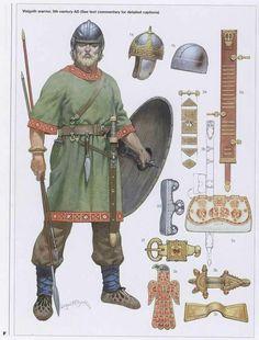 Frankish warrior