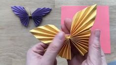 Easy Paper Butterfly Origami Cute & Easy Butterfly DIY Origami for Beginners Decorationn is part of Diy origami - Easy Paper Butterfly Origami Cute & Easy Butterfly DIY Origami for Beginners Easy Paper Butterfl Diy Origami, Paper Crafts Origami, Origami Design, Paper Crafts For Kids, Diy Arts And Crafts, Diy Paper, Origami Wall Art, Paper Folding Crafts, Cardboard Crafts