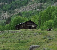 Tabasco Mill site, below Cinnamon Pass Co. Alpine Loop,