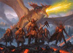 Atarka's Command - Dragons of Tarkir MtG Art