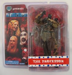horror movie action figures   of 1,000 Corpses Movie THE PROFESSOR Action Figure by SEG « Horror ...