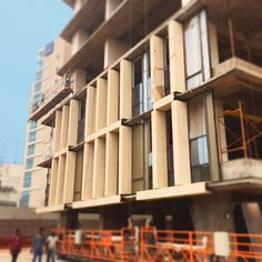 Construction Site Mondeal Heights on Ahmedabad by Blocher Blocher India Pvt. Ltd.