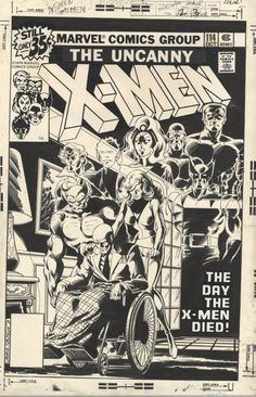 The Uncanny X-Men 114 - John Byrne
