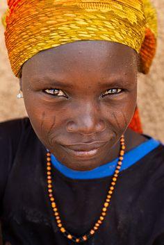 Hausa woman, Inyelwa, Niger