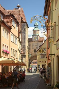 Rothenburg ob der Tauber, Bavaria_ Germany