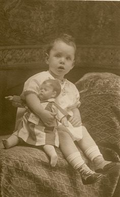 Kathe Kruse doll, c 1915 by fluffy chetworth, via Flickr