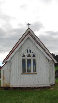 Te Whare Karakia o Mikaere. St Michael's Anglican Church. Kaikohe