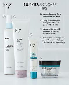 No 7 skin care