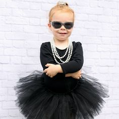 Audrey Hepburn tutu Black Birthday Tutu by MamaPeacockBabyOwl Audrey Hepburn, Divas, Black Tutu Skirt, Birthday Tutu, Birthday Ideas, Blue Punch, Bodysuit, Baby Tutu, Baby Cartoon