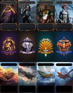 Game Card Design, High Fantasy, Game Ui, Card Games, Character Art, Card Making, Batman, Graphic Design, Superhero